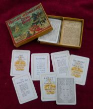 Vintage cards game History of England, Edward  1483 to James the 2 second 1688